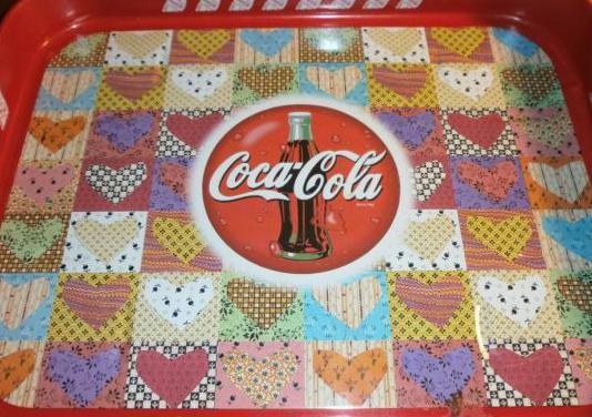 Bandeja metálica coca cola vintage