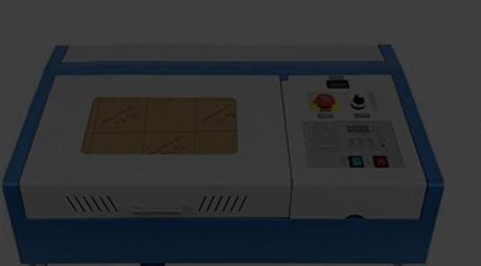 Gravadora cortadora laser 40w