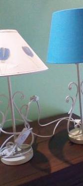 Varias lamparas mesilla y decorativas
