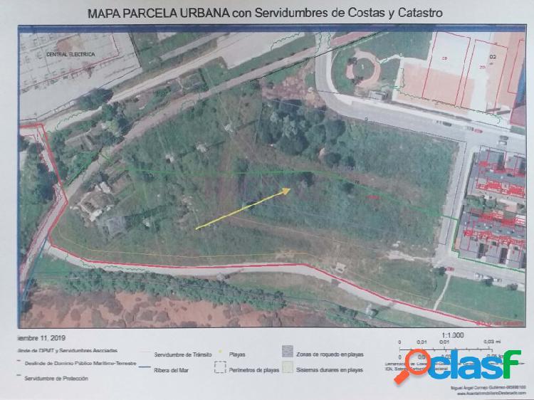 Oportunidad !! parcela urbana a 5km del centro de santander
