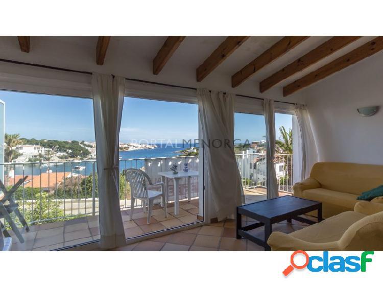 Magnífico apartamento adosado con vistas al mar y piscina comunitaria en addaia
