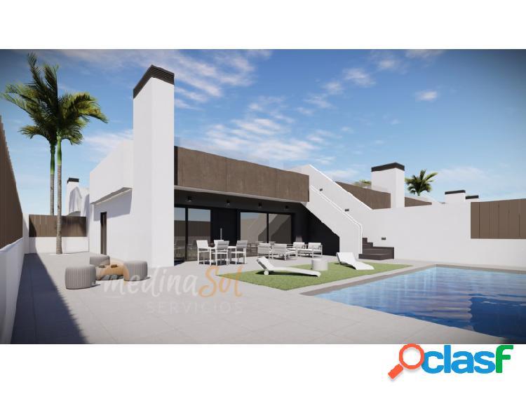 Villa 3 dormitorios con piscina privada y solárium mar de cristal