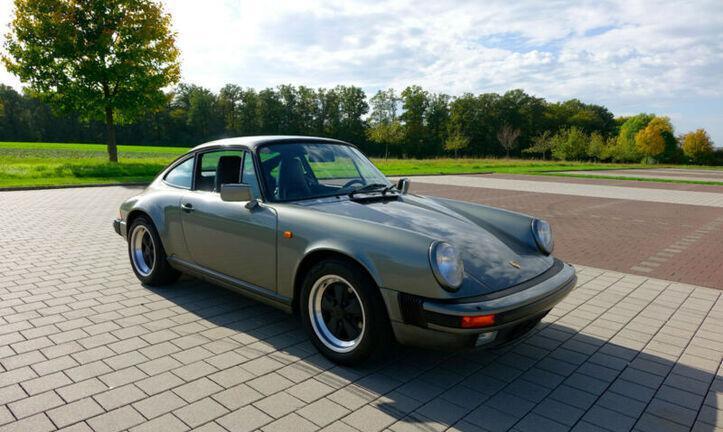 1987 porsche 911 carrera 3.2 g50