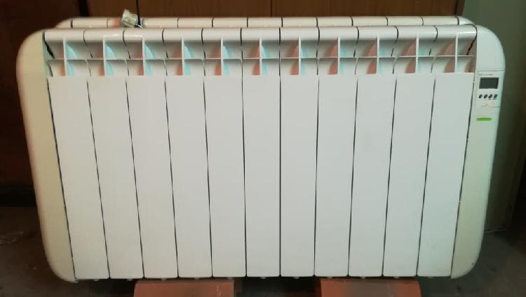 7 radiadores calor azul