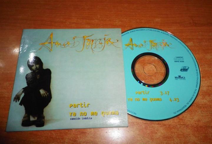 Ana torroja ya no me quema (inedita) / partir cd single 1997