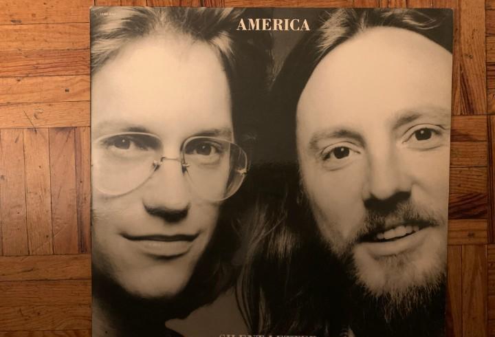 America – silent letter sello: capitol records – 2s