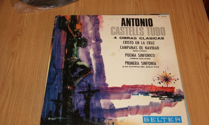 Antonio castells tudó - 4 obras clásicas - belter p-30.019