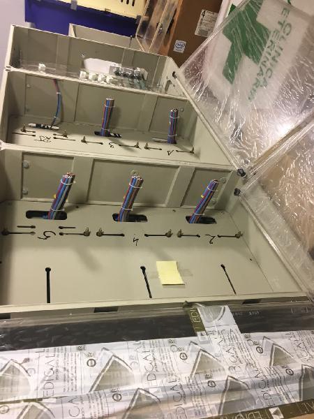 Armario centralización controles electricos