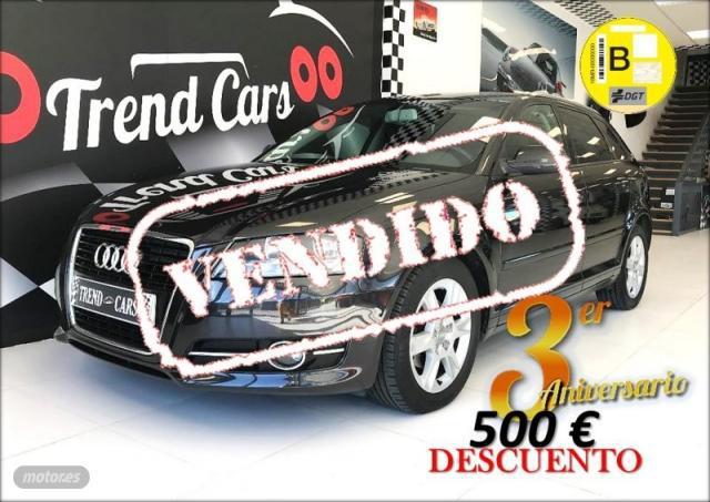 Audi a3 sportback 1.6 tdi 105cv attraction de 2011 con