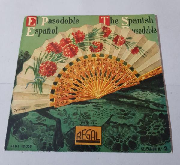 Banda municipal de madrid - el pasodoble español- 1958