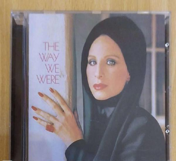 Barbra streisand (the way we were) cd 2002