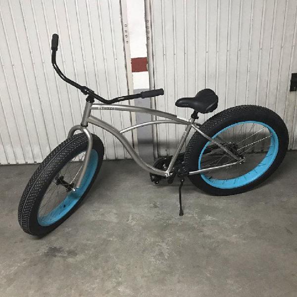 Bicicleta beach cruiser fat