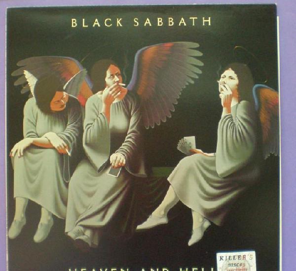Black sabbath - heaven and hell - lp. edición de 1980