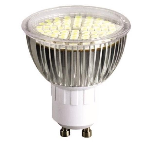 Bombilla dicroica led 4,5w càlida -aluminio