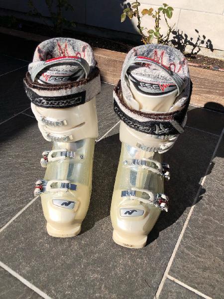 Botas esquí nórdica mujer