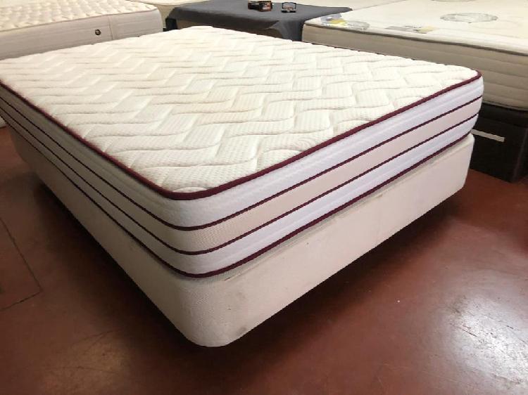 Canapé fijo+colchón visco 135x190
