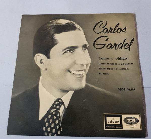 CARLOS GARDEL 1958 - TOMO Y OBLIGO - COMO ABRAZADO A UN