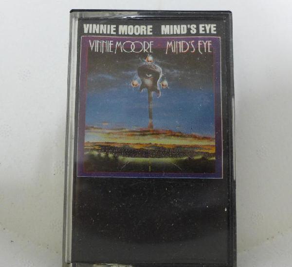 CINTA DE CASSETTE CASETE - VINNIE MOORE - MIND'S EYE