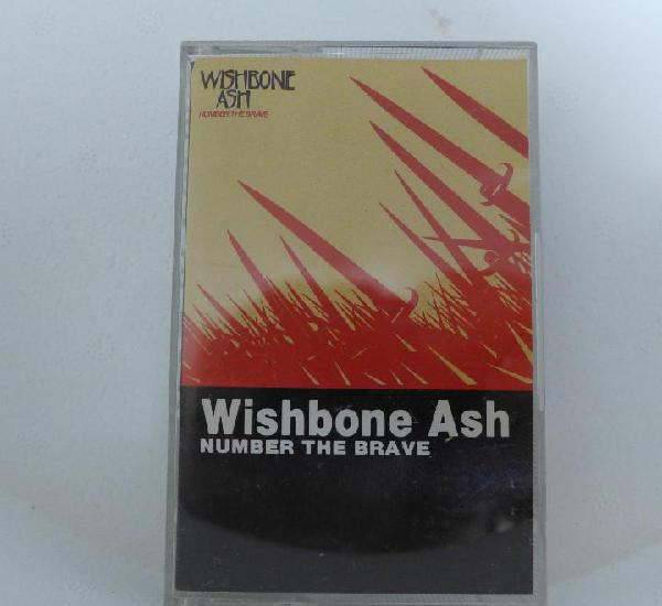 CINTA DE CASSETTE CASETE - WISHBONE ASH NUMBER THE BRAVE