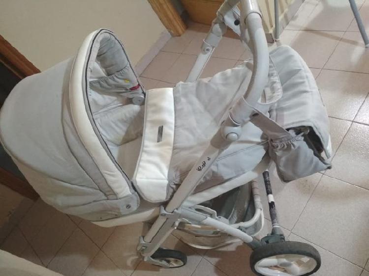 Carrito bebcar ip op beige + accesorios