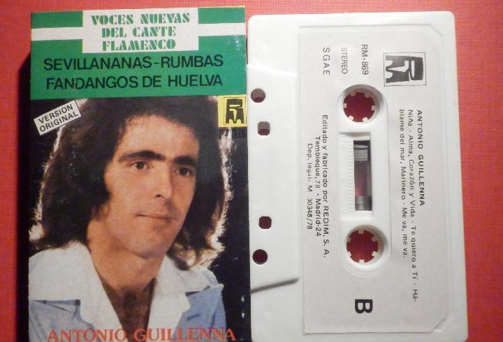 Cinta de Cassette - Antonio Guillena - Guillenna -Voces