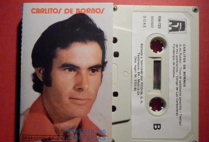 Cinta de Cassette - Casete - CARLITOS DE BORNOS - REDIM 1981