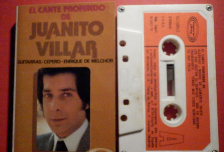 Cinta de Cassette - Casete - El Cante Profundo de Juanito