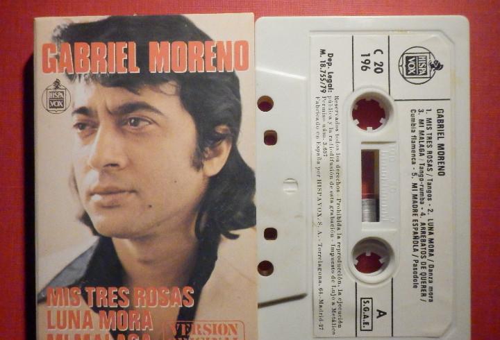 Cinta de Cassette - Casete - Gabriel Moreno - Hispavox 1979
