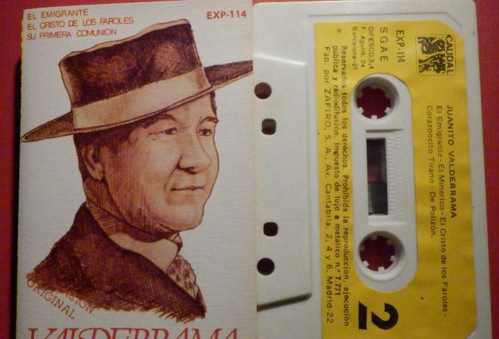Cinta de Cassette - Casete - Juanito Valderrama - Caudal