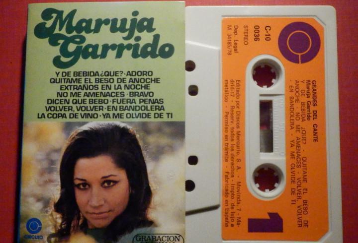 Cinta de Cassette - Casete - Maruja Garrido - Círculo 1978
