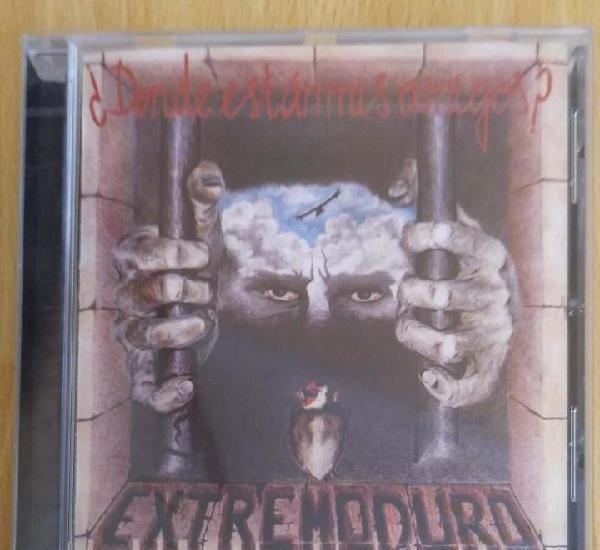 Extremoduro (¿donde estan mis amigos?) cd 2011 * precintado
