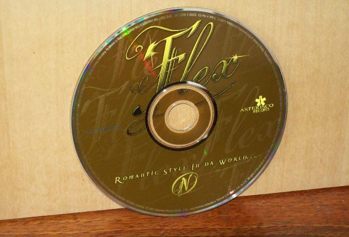 Flex - romantic style in da world - solo cd sin caratulas