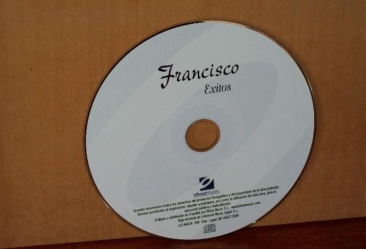 Francisco - exitos - solo cd sin caratulas como nuevo
