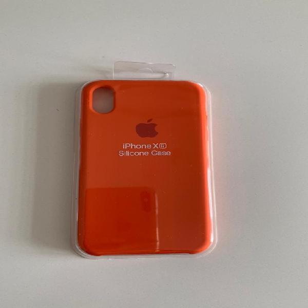 Funda para iphone xr naranja