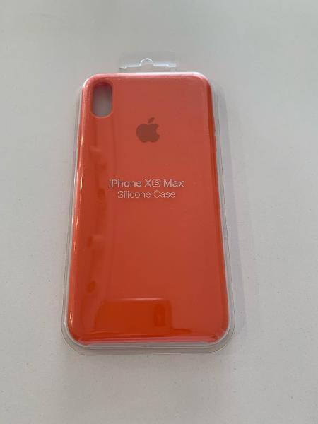 Funda para iphone xs max naranja
