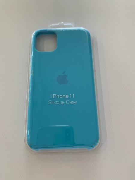Funda para iphone 11 azul claro