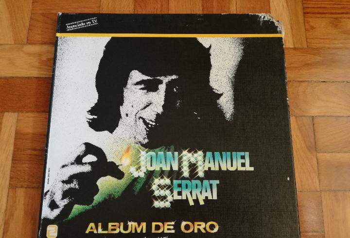JOAN MANUEL SERRAT ALBUM DE ORO CONTIENE 4LP'S-POEMA DE