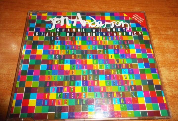 Jon anderson change we must cd single 1994 uk contiene 3