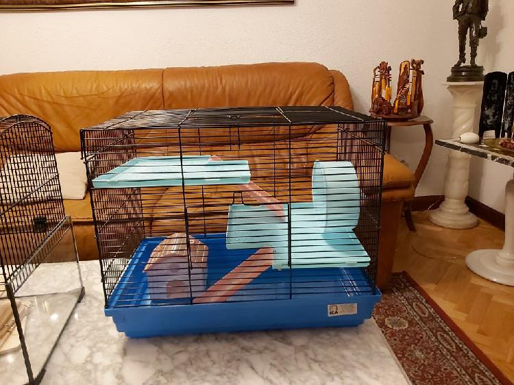 Jaula de hamster o animales pequeños