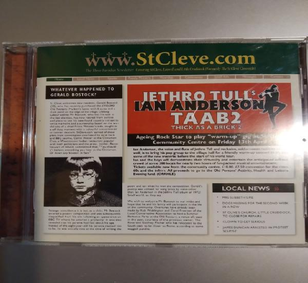 Jethro Tull's. Ian Anderson. Thick as a brick 2