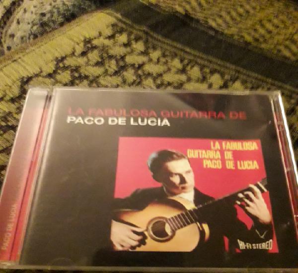 La fabulosa guitarra de Paco de Lucía. Edicion de 2005.