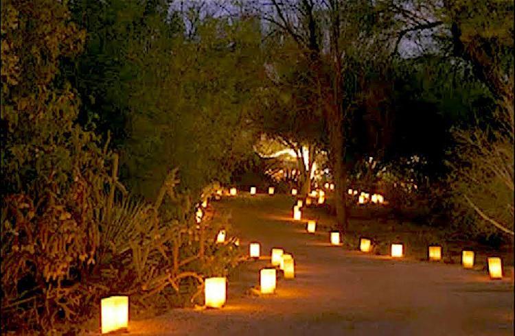 Linterna de papel para decoración de bodas