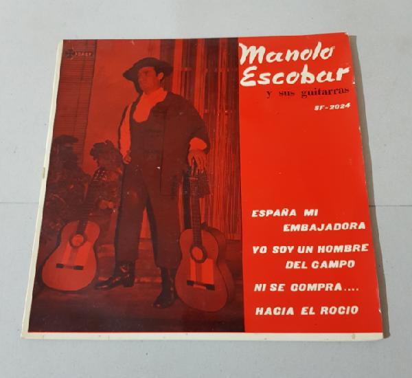 Manolo escobar y sus guitarras - españa mi embajadora - yo