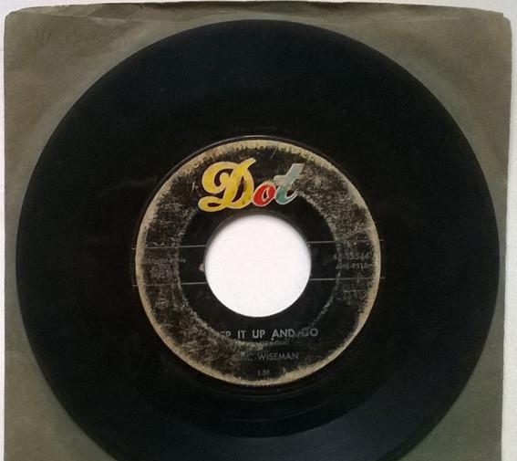 Mac wiseman. step it up and go/ sundown. dot, usa 1957