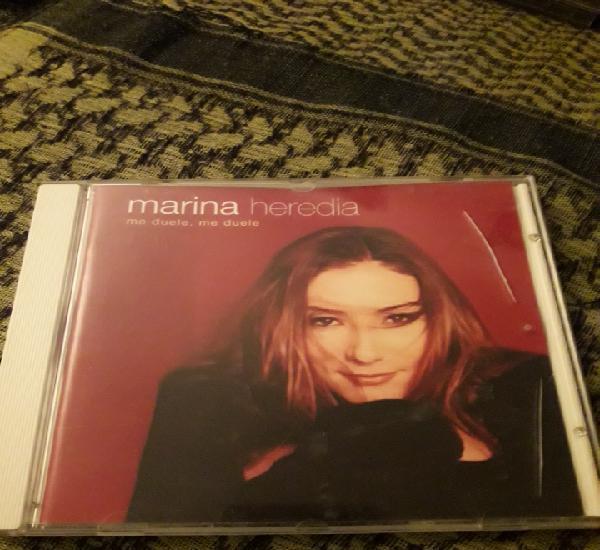 Marina Heredia. Me duele, me duele. Edicion de 2001