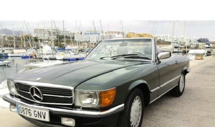 Mercedes benz sl 420 1987
