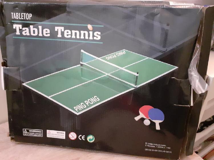 Mini tenis de mesa ping pong portátil y universal