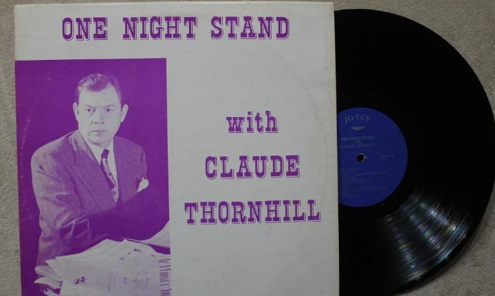 One night stand with claude thornhill lp vinyl made in usa