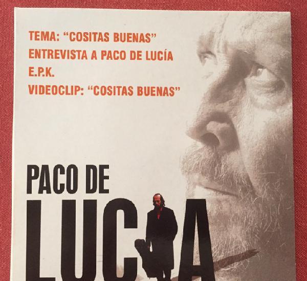 Paco de lucia - cositas buenas, entrevista y videoclip