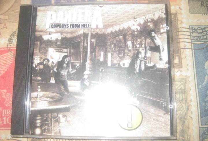 Pantera `cowboys from hell` actco 1990 excelente condicion